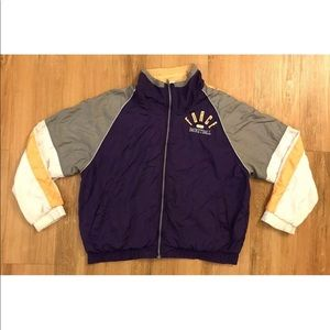 Vintage Nike Force Basketball Windbreaker Jacket